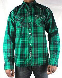 ... Il-tempo-e-denaro-GREEN-Check-camicia-Hip- 7c82f8c21fc0