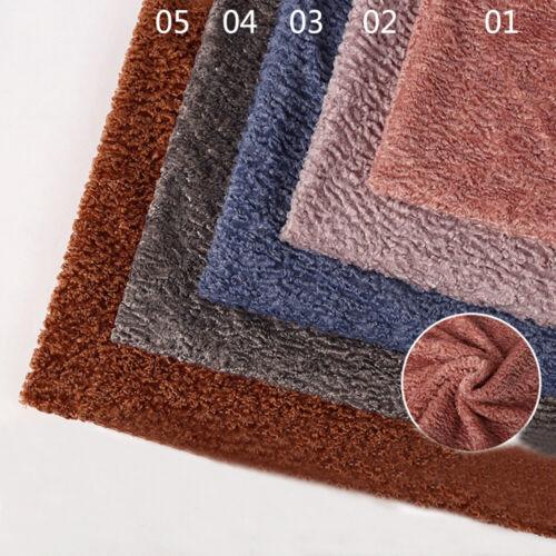 Schaffell Plüsch Stoff Wollrolle Patchwork Kleiderstoff DIY Bastel Kleider Tuch
