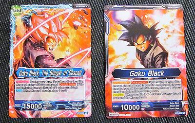 Dragon Ball Super TCG Goku Black Goku Black////The Bringer of Despair BT2-036 UC