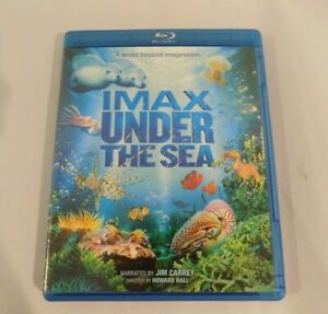 Imax-Under-The-Sea-Blu-Ray-DVD-Narrated-by-Jim-Carrey-2-Disc