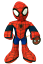"miniature 1 - Marvel Spiderman Plush Stuffed Doll Toy Gift Kids Boys Girl 14"" Spider Man Super"