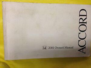 HONDA ACCORD 2001 - Owner s Manual Handbuch Betriebsanleitung Fahrzeug - Auerbach, Deutschland - HONDA ACCORD 2001 - Owner s Manual Handbuch Betriebsanleitung Fahrzeug - Auerbach, Deutschland