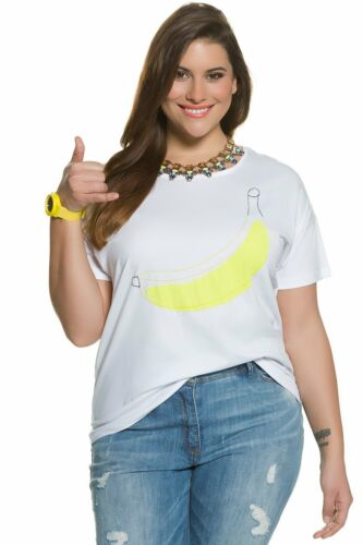 ULLA POPKEN Shirt Banane ecru NEU