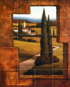 art mural ceramic tuscany bath backsplash tile 660