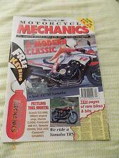 Classic motorcycle mechanics(no90)FZ750/GS1000/Villiers / Yam YR5/Kawa H1/CJ250/