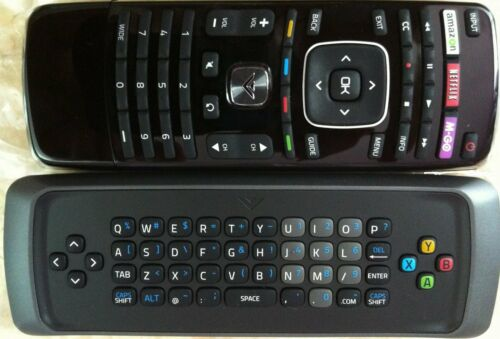 New Vizio Qwerty keyboard Remote for Vizio VIA Internet HDTV--30 days warranty!