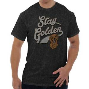 Stay-Golden-Funny-Goldendoodle-Lab-Adorable-Dog-Puppy-Gift-T-Shirt-Tee