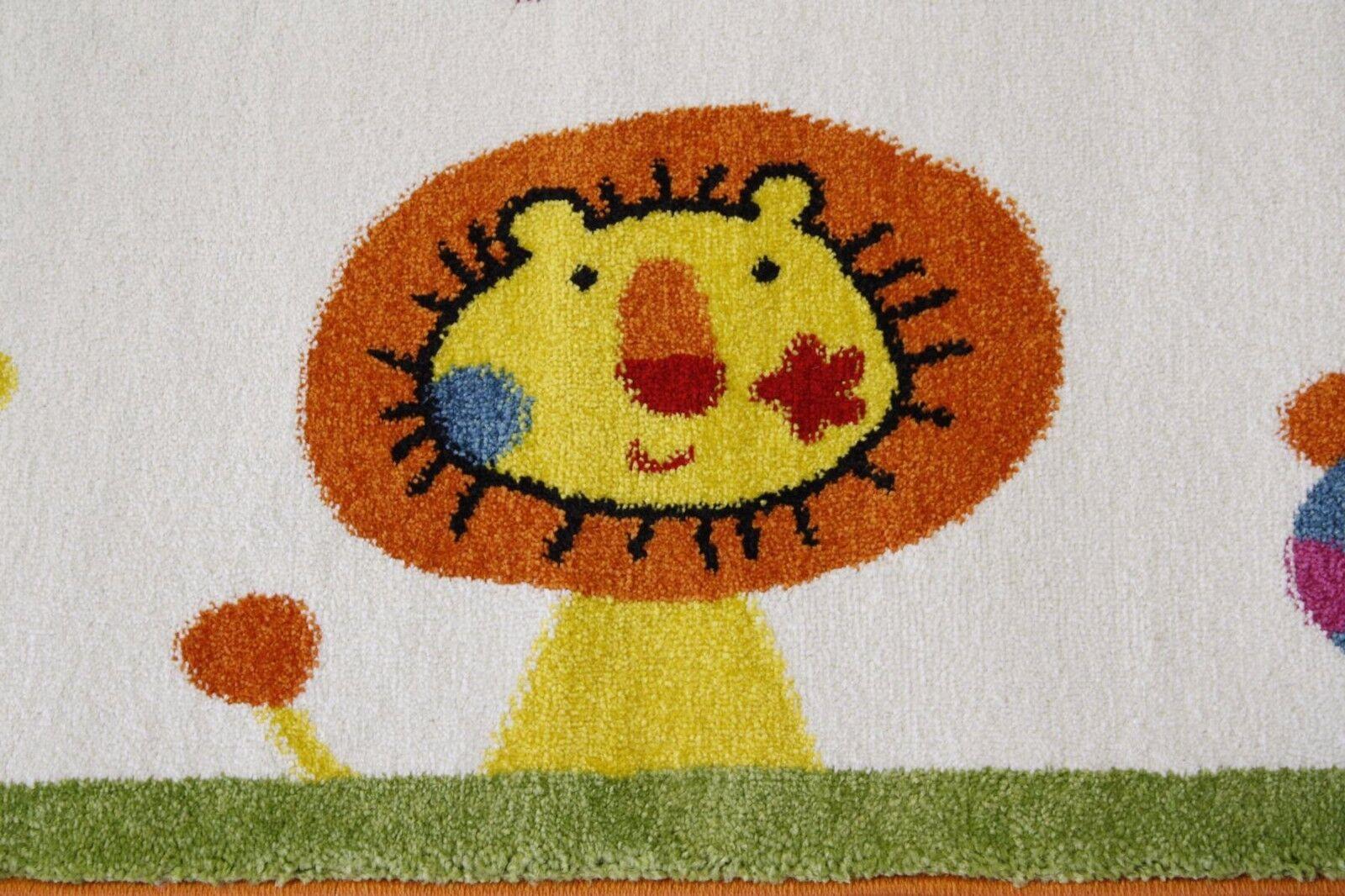TAPPETO bambini Tappeto Tappeto Tappeto gioco sk-0525-01 SIGIKID Animal Festival 133x200 CM ColoreeeATA 289159