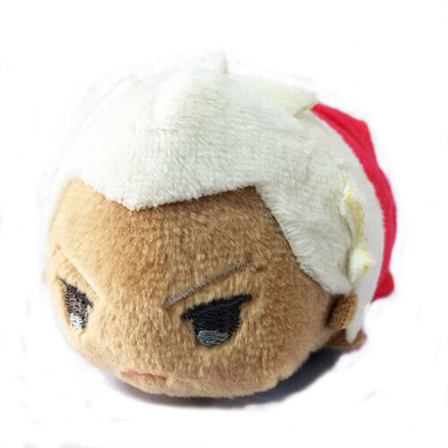 FGO Fate//Grand Order mochimochi Plush Doll Toy Keychain Keyring Strap Saber Gil