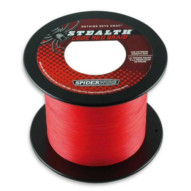 SPIDERWIRE STEALTH RED 1800MT 0,35