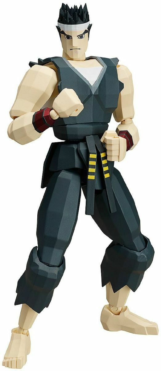 Figma SP-067a Virtua Fighter AKIRA YUKI Action Figure FREEing NEW from Japan
