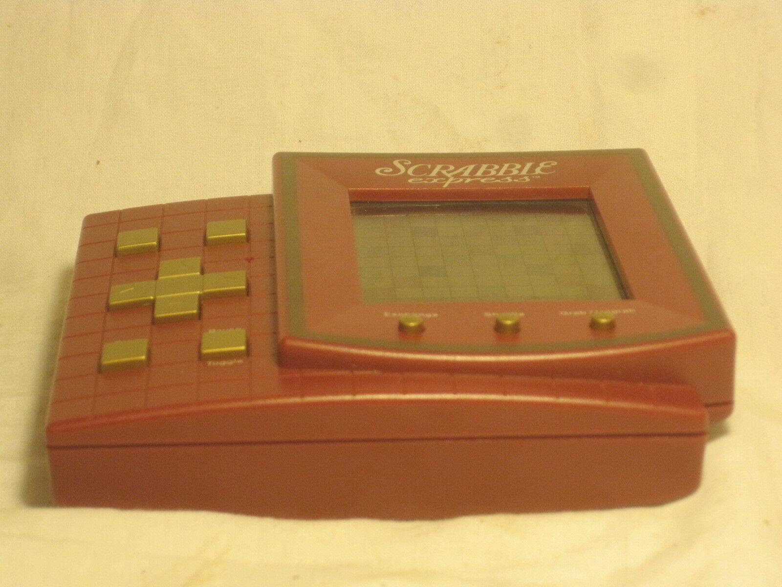 Scrabble Scrabble Scrabble Express Hasbro electronic LCD hand held video game 94ec65