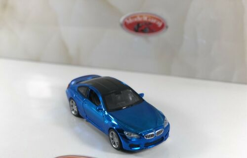 BMW M6 BLUE LIGHT AND SOUND  1 32 SCALE BMW M6  1:32 Scale BMW Miniature Car