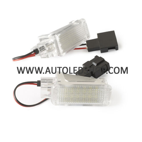 VW TOUAREG SMD LED INTERIOR LIGHT UPGRADE UNIT FOOT WELL DOOR BOOT GLOVE BOX