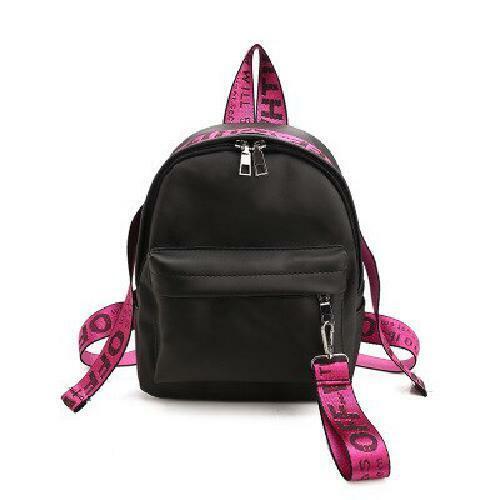NEW Off-White Style Virgil Abloh Backpack small Bag For Travel//School backpacks.