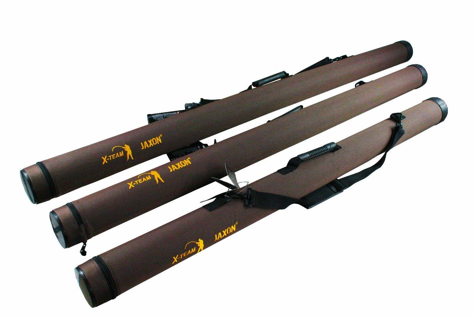 Jaxon Ruten-Transportrohr Rutenrohr Rod Bag Hardcase Sheath 130-215cm Top