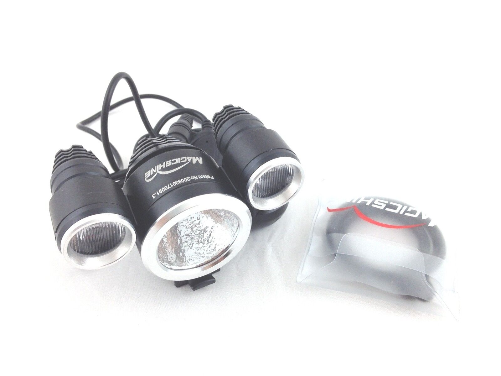 MagicShine MJ-816E 1800 Lumen Wide Angle LED Bike Light Head ONLY with O-rings