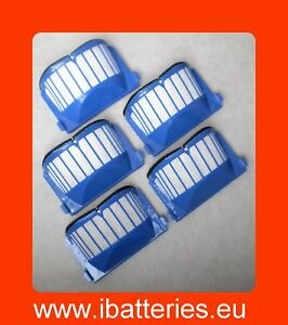 Pack-de-5-filtres-pour-iRobot-Roomba-AeroVac-bac
