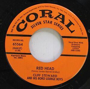 038653b4321f 50 S   60 S 45 Cliff Steward And His Boro Lounge Boys - Red Head ...
