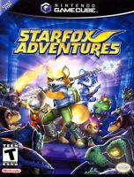 Nintendo Gamecube Star Fox Adventures Box Cover 8.5 X 11 Wall Poster Decor