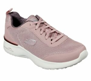 Skechers, Sneakers Casual Donna Mauve, with Memory Foam, Lacci 12947 Skech-air