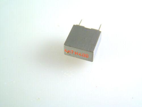 Condensador de poliéster Caja 4n7 400v 5mm OL0532 10 piezas de paso