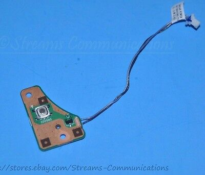 TOSHIBA Satellite P875-S7102 Laptop Power Button Board W// Cable