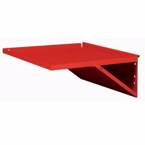 Sidchrome TOOL TROLLEY SIDE SHELF 47x4.5x47cm Scratch Resistant RED Aust Brand