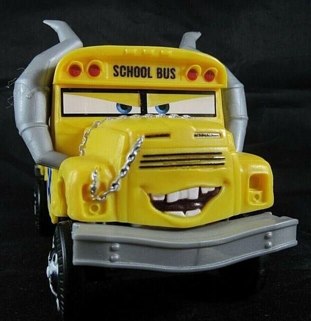 2016 Mattel Disney Pixar Cars 3 MISS FRITTER School Bus 6 ...