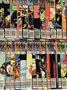 Marvel-Comics-Power-Man-and-Iron-Fist-Lot-of-36-Comics-between-67-125