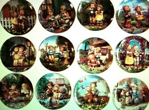 Hummel-Little-Companions-Danbury-Mint-Plates-Multi-Listing-CHOOSE-ONE