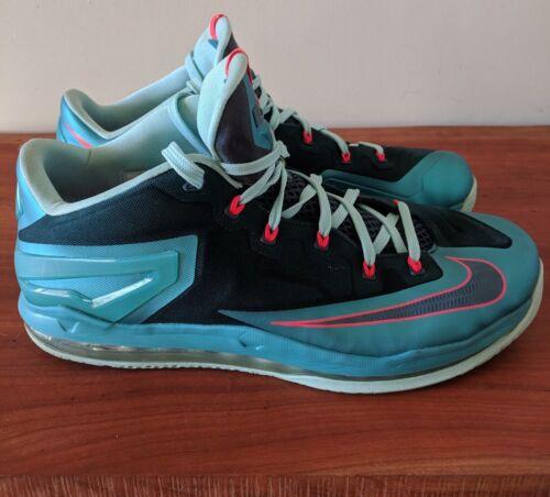 hombre Nike 14 Nightshade Green Glacier Turbo Baloncesto Lebron Xi 11 Low de sz YqRYgr