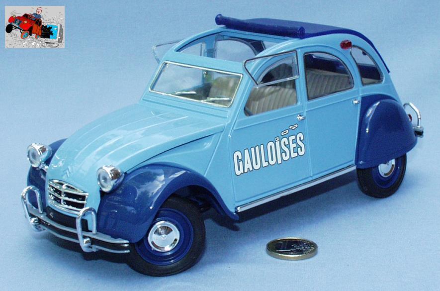 Solido 1/17 : Citroën 2cv Gauloises (1ière version)