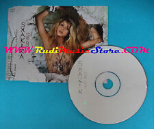 CD Singolo Shakira The One SAMPCS 12344 1 EUROPE 2002 PROMO no mc lp vhs(S25)