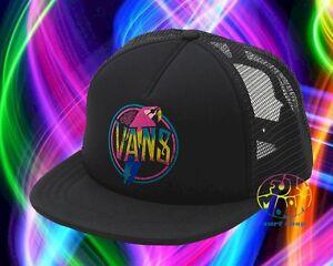 cd1ce34a7 Details about New VANS Lawn Party Neon Parrot Womens Trucker Snapback Cap  Hat