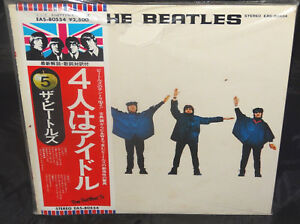 Beatles-Help-Sealed-Vinyl-Record-Lp-Album-Japan-1976-Apple-EAS-80554-Obi