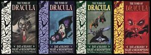 Tomb-of-Dracula-Day-of-Blood-Night-of-Redemption-Trade-Paperback-TPB-Set-1-2-3-4