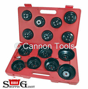 16pc-Cap-Type-Oil-Filter-Wrench-Removal-Puller-Set-Tool-Kit-Adaptor-3-8-034-CT1224