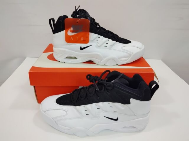 e0a3caefe48 NIB Nike Air Flare Andre Agassi 705438-100 White Black Tennis Shoes Men's  Sz 9.5