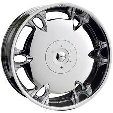 20 X 10 Dvinci Tuscani Chrome wheels Fit BMW X5 X6 Camaro Cayene FX35 FX45