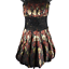 bebe-Black-Red-amp-Yellow-Floral-Lace-Sequins-Short-Formal-Puffy-A-Line-Dress-Med miniatuur 1