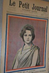 Le-Petit-Journal-Supplement-illustre-24-Juillet-1898-Ernestine-Curot