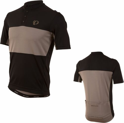 PEARL iZUMi Homme Velo Cycle Bike Tour Jersey Noir//Gris