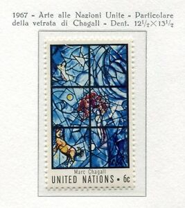 19079-UNITED-NATIONS-New-York-1967-MNH-Chagal