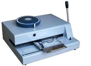 Semi Automatic Nameplate Embosser Metal Embossing Machine