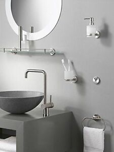 Brass Polished Chrome Modern Bathroom Wall Accessories Brand New Paper Holder Ebay