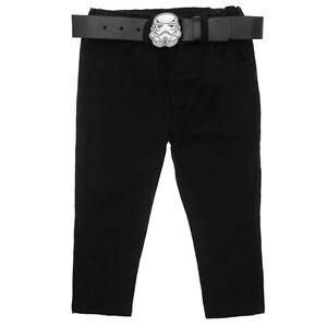 DISNEY-jean-pantalon-noir-STAR-WARS-5-6-9-10-ou-11-12-ans-NEUF