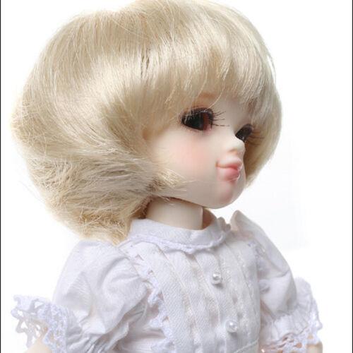 """Dollmore BJD Size 12.7cm 5/""""  Short cut Blonde"""
