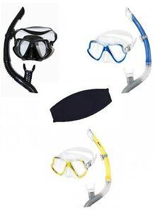 MARES-ZEPHIR-MASCHERA-immersioni-con-boccaglio-U-maskenband-diverse-colori-Set