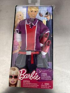 R4269 NRFP kB 2009 Barbie Mattel Ken Fashion Set Purple Red Shirt Red Shoes No